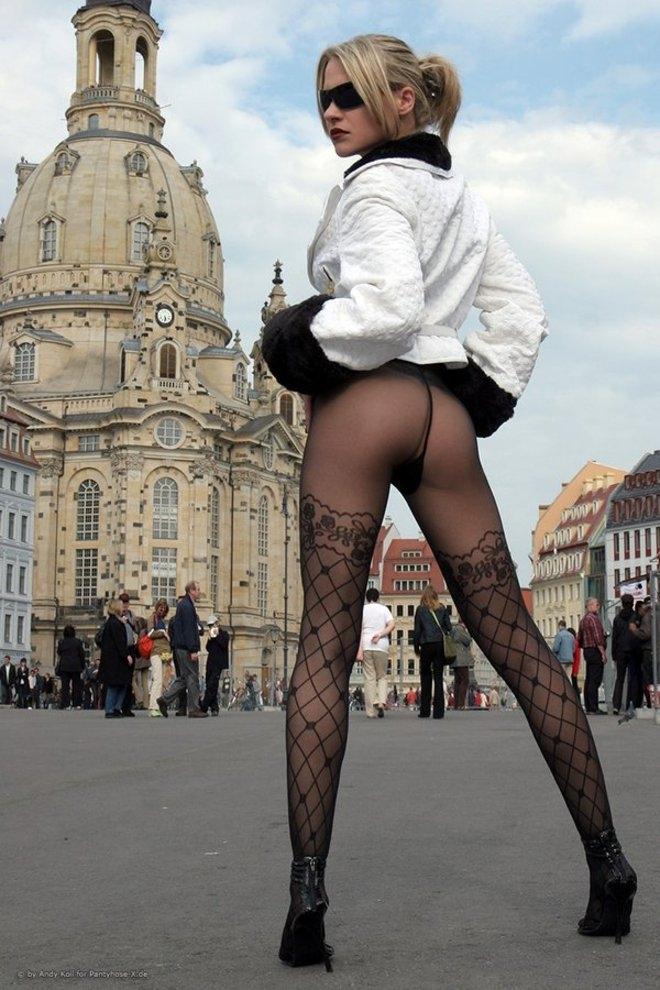 жены улице сексуальные фото на